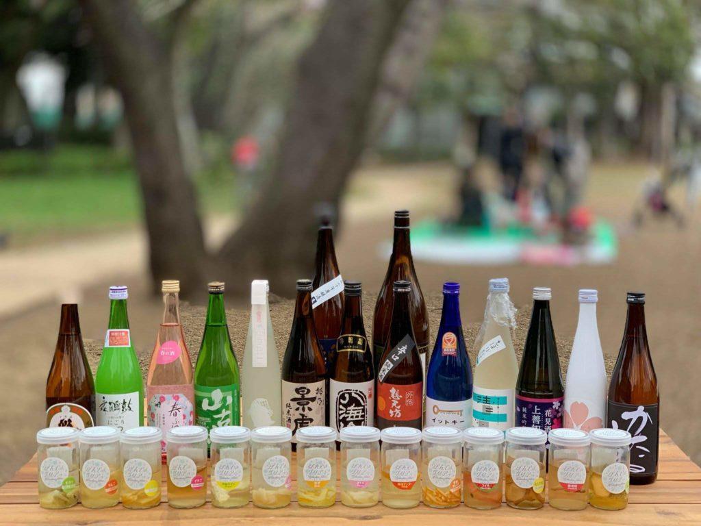 日本酒カクテルの素・ぽんしゅグリアと日本酒
